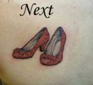 Ruby Slippers Tattoo NEXT