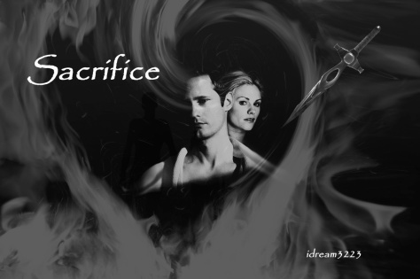 Eric and Sookie B&W TAGGED BANNER